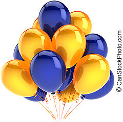 Birthday party balloons decoration - Happy birthday balloons...