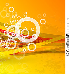 Abstract lines Vector background - Vector illustration for...