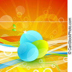 Abstract environmental theme - Vector illustration for your...