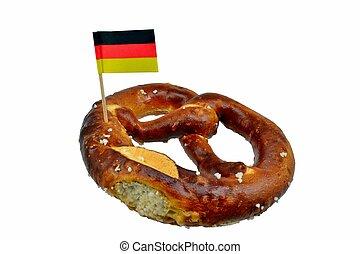 Pretzel, Alemán, bandera