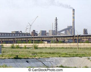 Natural Gas - Flare at a Natural Gas plant