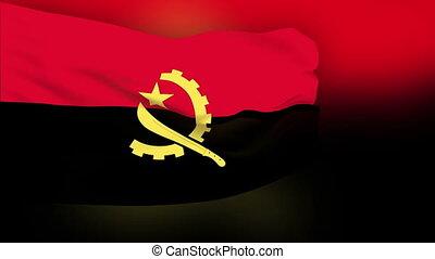 Flag of Angola