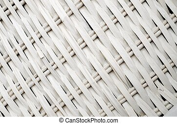 wicker - background created in the foreground of a wicker...