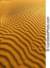 hermoso, arena, Duna, formaciones, muerte, Valle, California