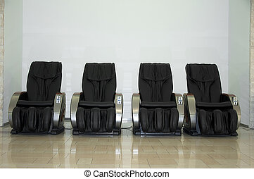 Massage chairs - Electric massage chairs. Full automated
