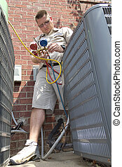 AC Repair Man - A/c tech charging air conditioning units,...
