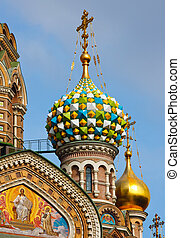 Church of the Savior on Spilled Blood, St Petersburg -...