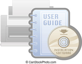 Printer Options - Printer Installation Software Guide Icon...