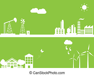 Green alternative energy - Cities using clean alternative...