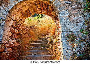 Stairways to the Palamidi fortress, Nafplio