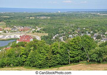 Blue Mountain in Ontario, Canada