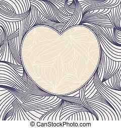 lovely heart frame
