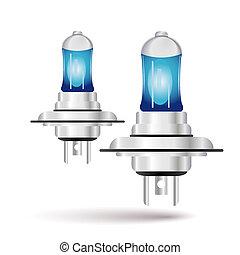 car bulb icon