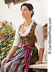 Bavarian girl costume in Holiday - Bavarian girl in Holiday...