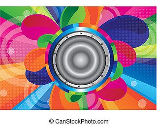 colorful speaker