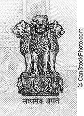 emblema,  Índia
