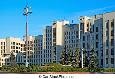 Government house of Belarus - House of Government of Belarus...