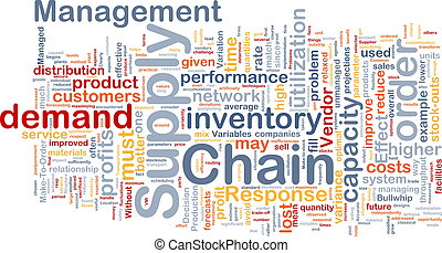 Supply chain background concept - Background concept...