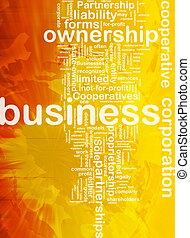 Business corporateion background concept