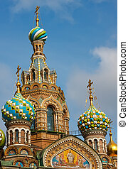 Church of the Savior on Spilled Blood, St Petersburg, Russia...