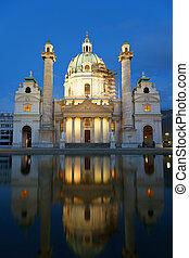 St. Charles's Church (Karlskirche) , Karlsplatz, Vienna