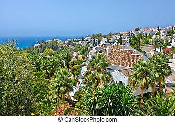 Spanish village, Nerja, Costa del Sol, Spain