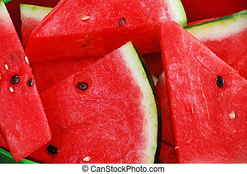 Watermelon slices - Fresh watermelon slices
