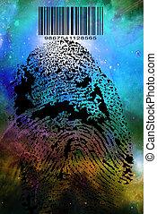 Fingerprint Barcode