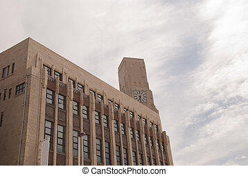 Art Deco Building and Clocktower2 - An Art Deco Building and...