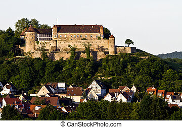 Castle Stettenfels in south west germany