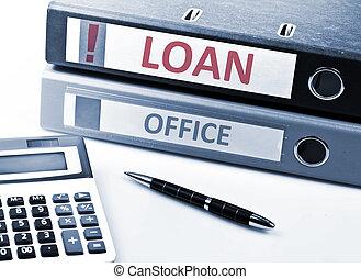 Loan write on folder