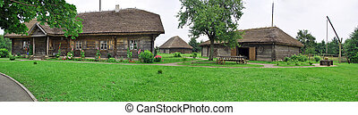 heritage - Museum Mickiewicz's manor Adama in village Zaosje...