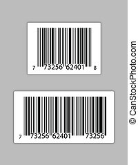 Generic bar codes illustration