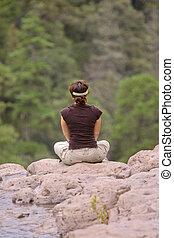 Nature Meditation - Salto del Agua Llovida, Durango, Mexico