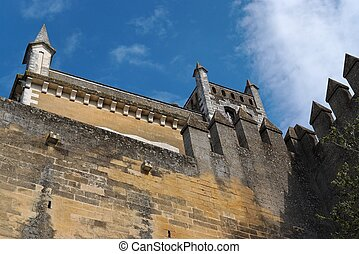 Almodovar, del, Rio, medieval, castelo, Espanha