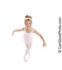 bailarina, pequeno, balé, crianças,...