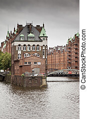 Wasserschloss Hamburg - An image of the nice Wasserschloss...