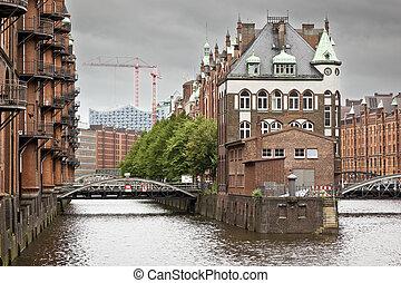 Wasserschloss Hamburg - An image of the nice Wasserschloss...