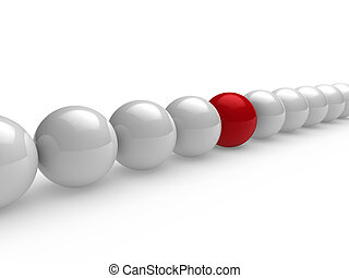 3d ball red white line - 3d, ball, red, white, network,...