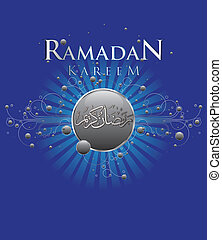 Ramadan Kareem - Abstract Ramadan Kareem celebration design...