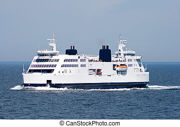 Ferry ship - Ferry service between Germany and Denmark