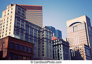 Architecture of Pittsburgh - Architecture of the center of...