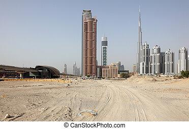 Construction in Dubai, United Arab Emirates