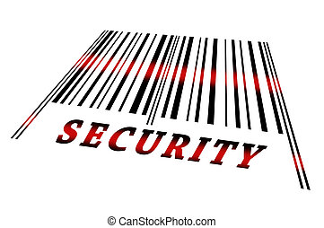 Security on barcode