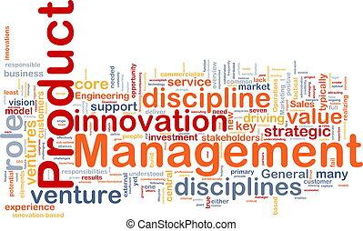 produit, gestion, fond, concept