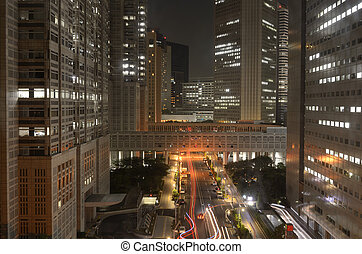 Metropolitan Government Bulidings in Tokyo - View of...