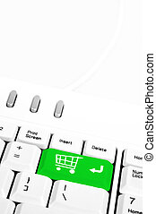 Shopping Cart key - Shopping Cart in place of enter key