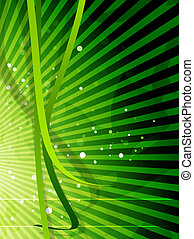 Vector nature shiny background