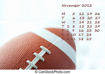 Calendar 2012 November - Page of calendar of 2012, Olympic...
