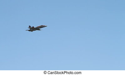 RCAF CF18 - CF18 Jet Fighter performing at an airshow